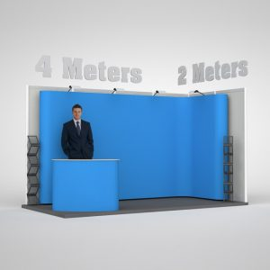 Easy Assemble Pop Up Exhibition Stand