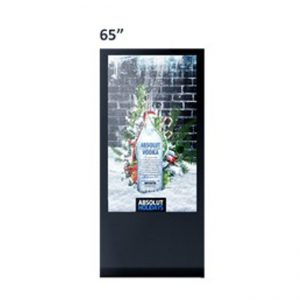 65 Inch LCD Freestanding Display Screen