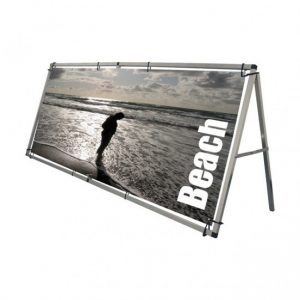 Beach Tension Display Banner