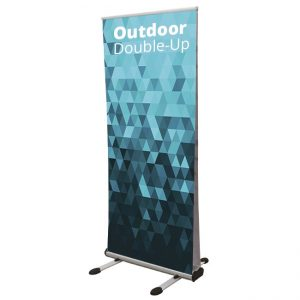 Outdoor Pull Up Roller Banner