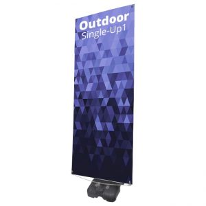 outdoor single banner