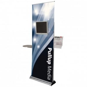 Pull Up Media Display Roller Banner