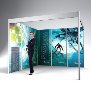 Complete Exhibition Banner Stand