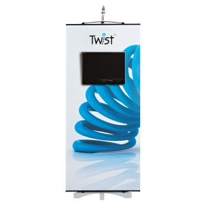 Twist Media Exhibition Display Banner Stand