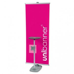 Exhibition Roller Banner Table
