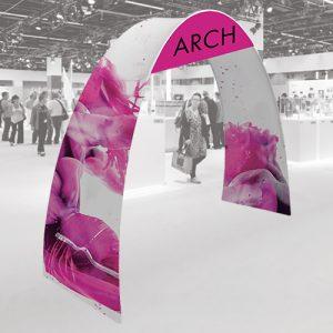 Modern Arch Exhibition Stand