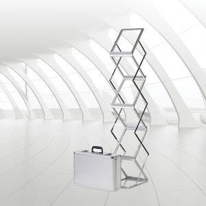 Aluminium Literature Stand