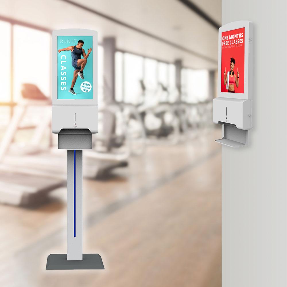 Automative freestanding sanitiser